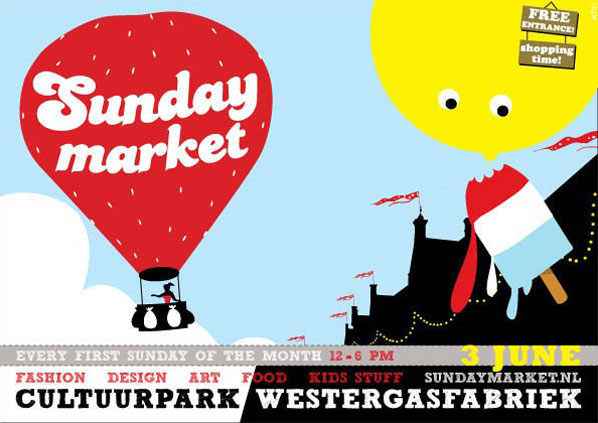 To visit: Sunday Up Market