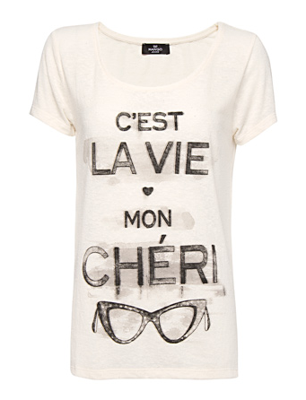 Catch of the Day: Mon Chéri tee
