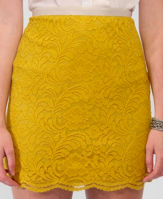 Catch of the Day: Mimosa lace skirt