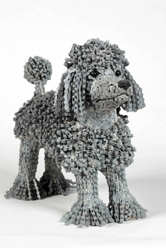 Digitalistic Art: Bike Chain Dogs