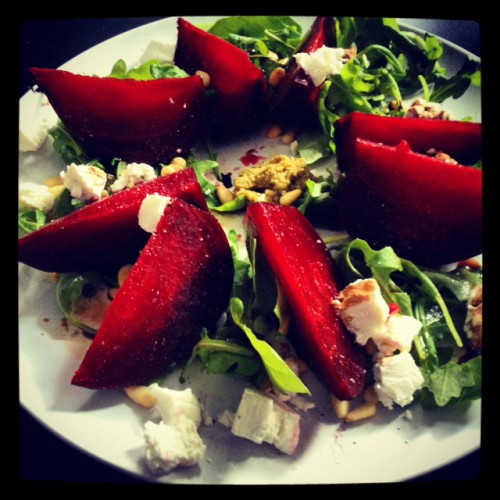 Sweet treat by Lydia: Beetroot Salad