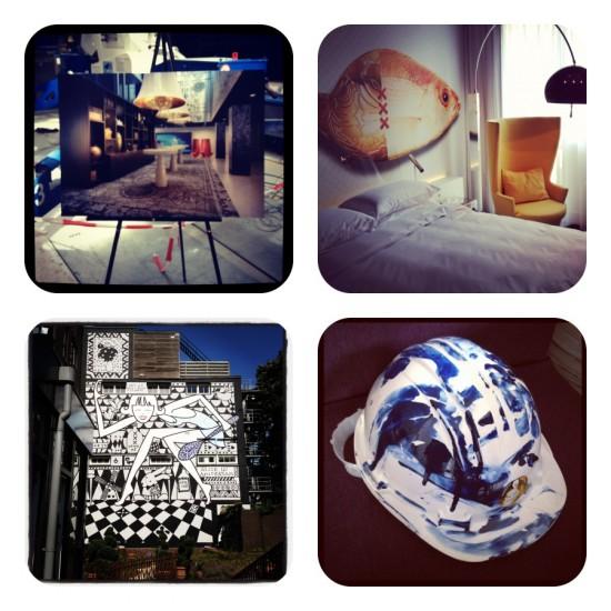 Sneak peek @ ANDAZ hotel Amsterdam