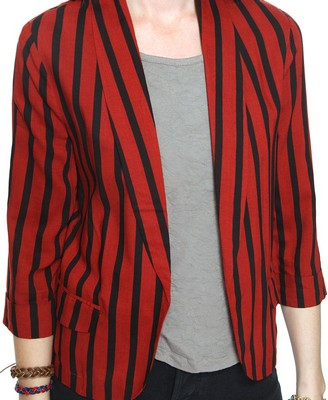 Catch of the Day: striped blazer