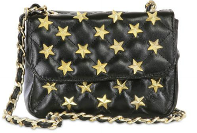 Catch of the day: starstudded quilted bag