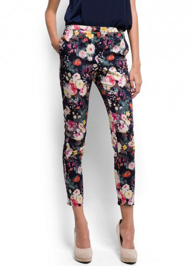Catch of the Day: Floral pants