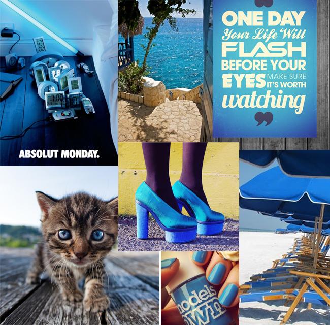 Mooody Moodboard: feeling blue?