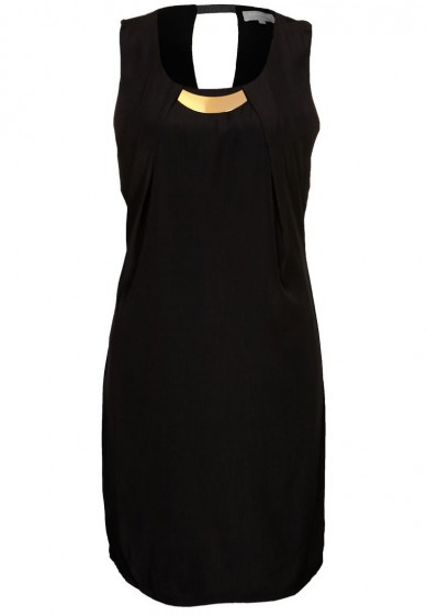 Catch of the Day: LBD with a touch of gold
