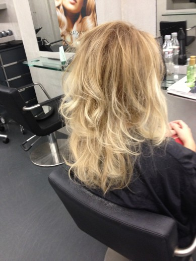 Ombré Hair, Courtesy Tony & Guy Haarlem