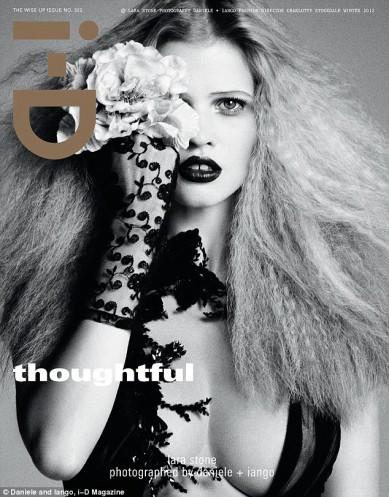 Lara Stone x i-D magazine