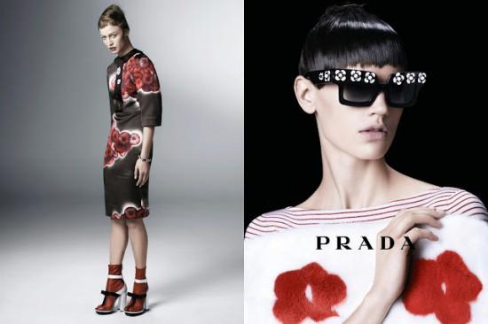 Campaign crush: Prada S/S'13