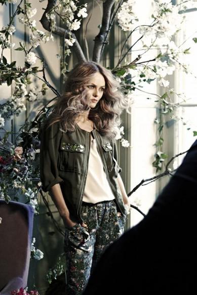 Vanessa Paradis for H&M Conscious
