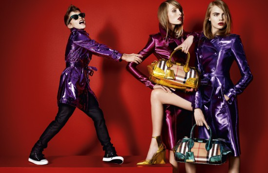 Video: Burberry S/S'13 campaign