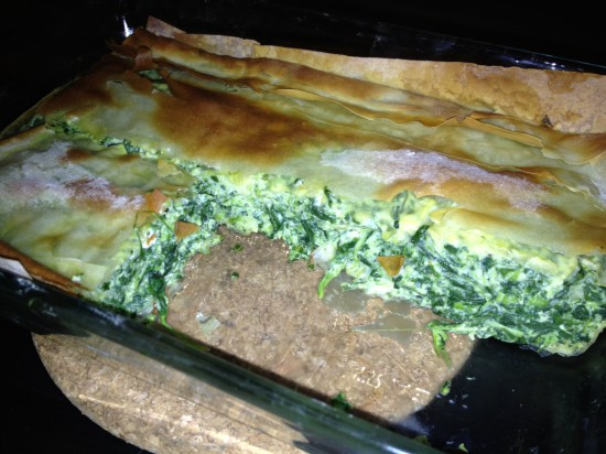Easy Greek Spanakopita