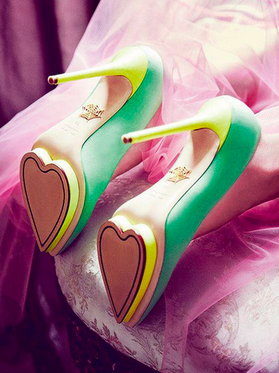 Valentine craving: Charlotte Olympia shoes
