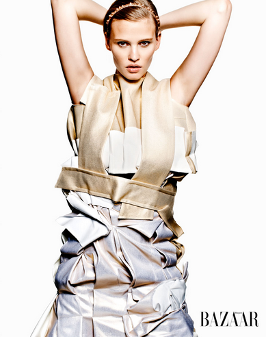 Carine Roitfeld's first Harper's Bazaar shoot
