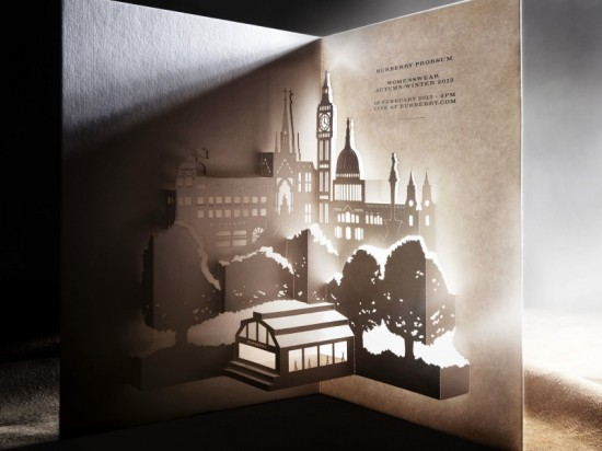 You're invited: Burberry A/W'13 show