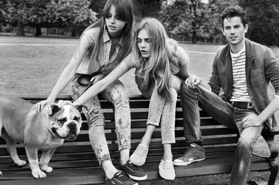 Cara Delevingne for Pepe jeans
