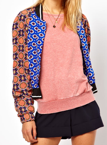 Best Budget Buy: printed bomber jacket