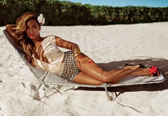 Beyoncé as Mrs. Carter for H&M