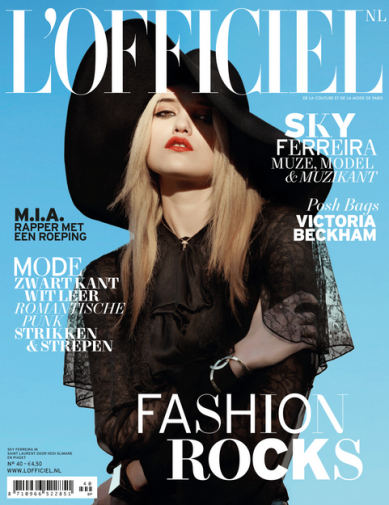 L'Officiel NL: Music Issue
