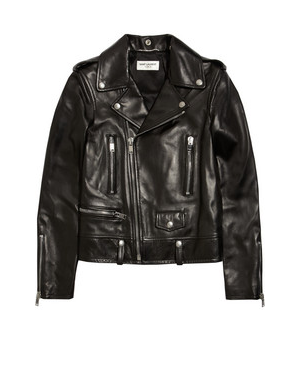 Friday Fashion Envy: Saint Laurent biker jacket