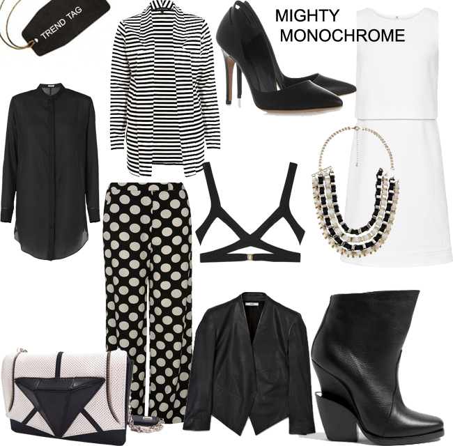 Trend Tag: Mighty Monochrome