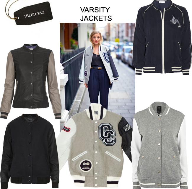 Trend Tag: Varsity Jackets