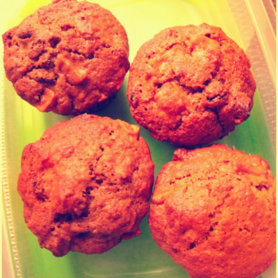 Healthy Raisin Bran Muffins