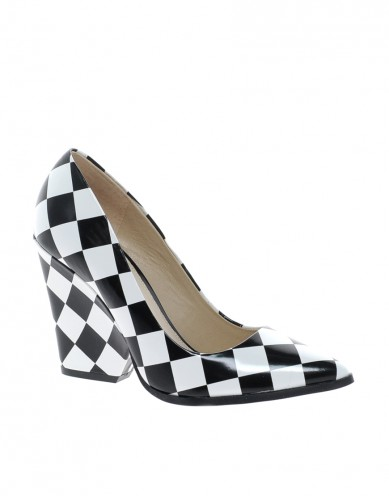 Best Budget Buy: Aldo checked block heels