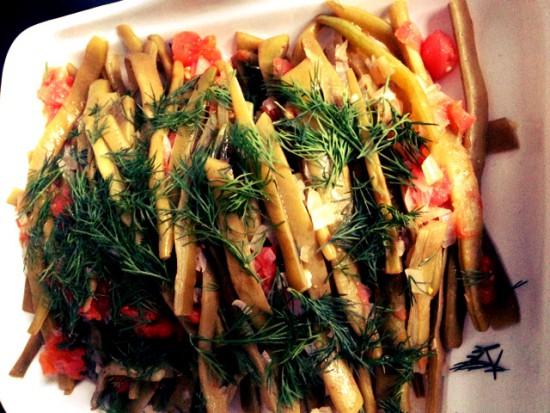 Lydia cooks: Turkish green beans