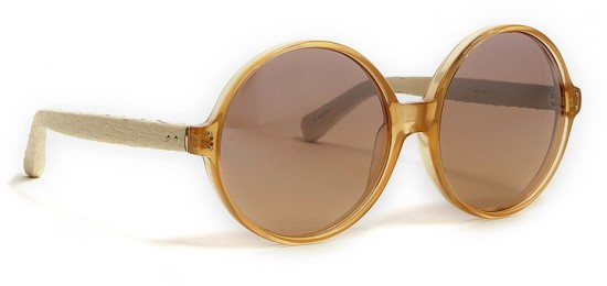 Friday Fashion Envy: Linda Farrow round sunglasses