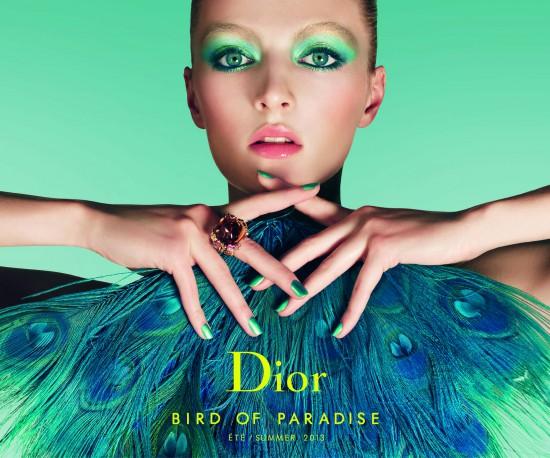 Visual Dior New Look Summer Bird of Paradise