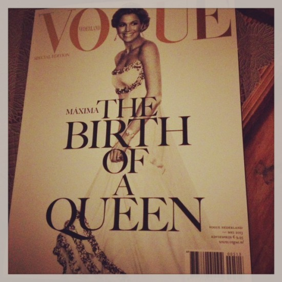 VOGUE NL's royal edition