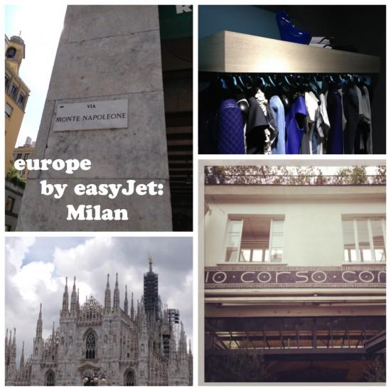 europe by easyJet: Milan