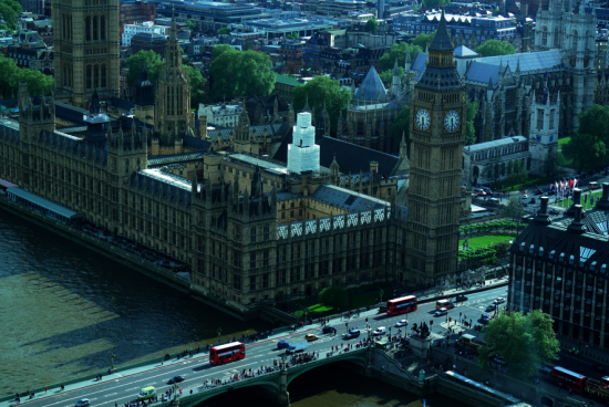 ...and took some pics from the London Eye...Hello there Big Ben!