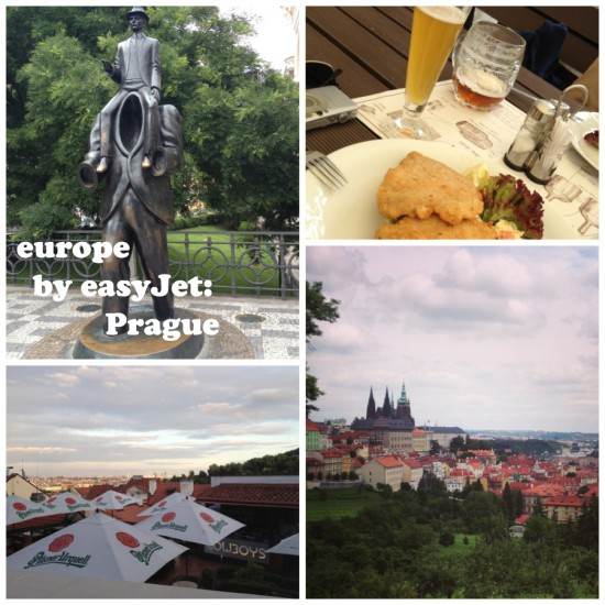 europe by easyJet: Prague