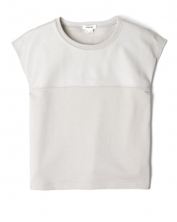 Friday Fashion Envy: Helmut Lang leather panel T-shirt