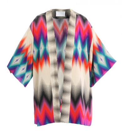 Friday Fashion Envy: Ikat print kimono