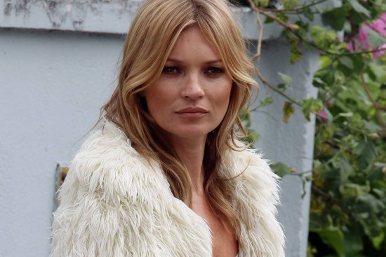 Kate Moss: from sushi box to phone accessory?