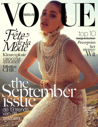 Cover Crush: Doutzen for Vogue NL