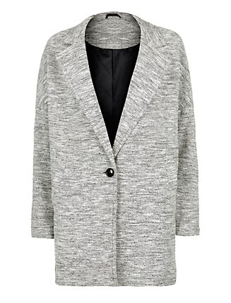 Best Budget Buy: Grey Boyfriend Jacket