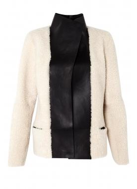 Friday Fashion Envy: Joseph monochrome shearling jacket