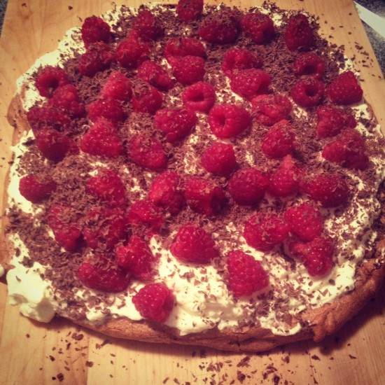 Thursday Treat: Chocolate Raspberry Pavolva