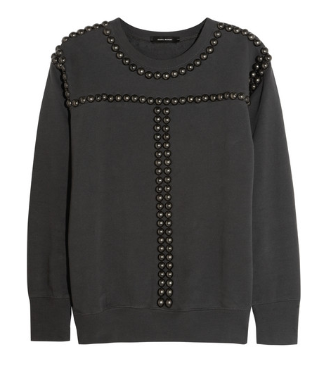 Friday Fashion Envy: Isabel Marant Studded Sweater