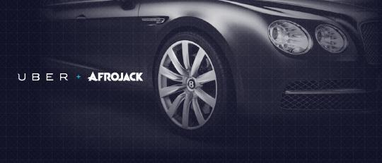 Uber X Afrojack