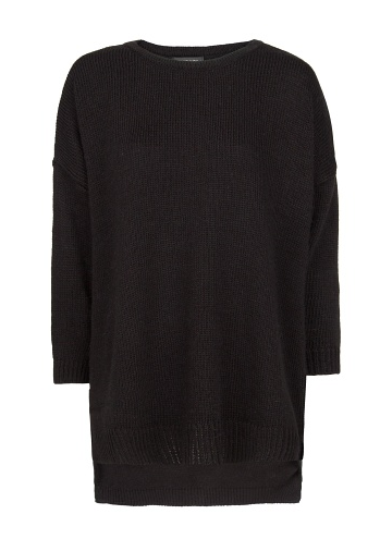 Best Budget Buy: Black oversized jumper