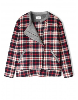 Best Budget Buy: Plaid bomber jacket