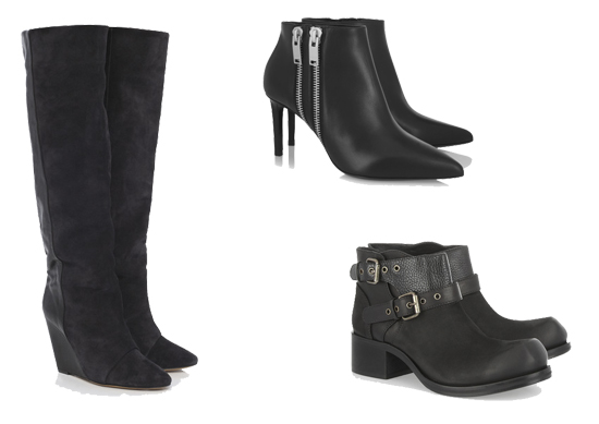 Best Budget Buy: Black Designer Boots