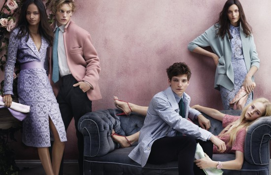 Burberry's new S/S'14 campaign