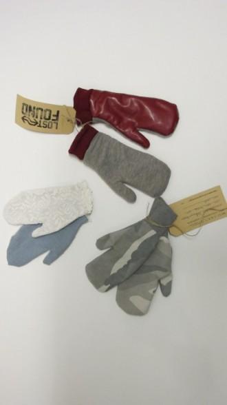 L&F- handschoenen uit tassen vesten jassen